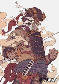 Orochi For Honor Samurai Drawing, Samurai Artwork, For Honor Samurai, Fantasy Characters, Anime Characters, Character Concept, Character Art, Japon Illustration, Botanical Illustration