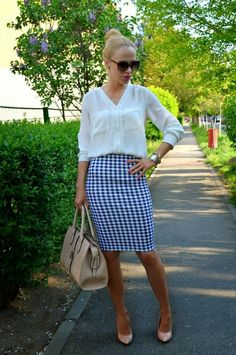 22 Pencil Skirt Outfit Ideas | Women Work Outfits