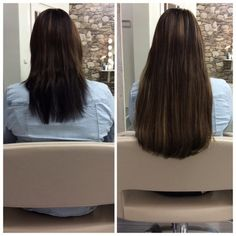 #hairweavegroningen #hairweave #weave #haarverlenging #beforeafter www.makeup-hair.nl