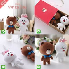 Cony & Brown - Gift Set White Day