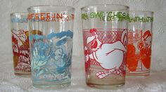 4 Vintage Warner Bros. 1974 Welches Cartoon Jelly Glasses | Collectibles, Animation Art & Characters, Animation Characters | eBay!