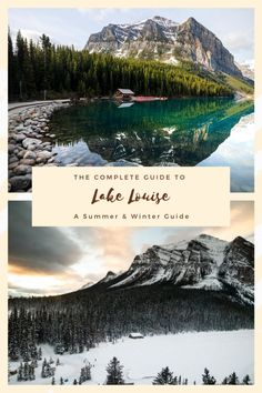 The complete guide to activities you can do at Lake Louise in both summer and winter. There are tons of amazing things to do in the area, make sure you check it out! #thingstodoincanada #banff #canada #alberta