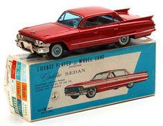 Japanese Tinplate Cadillac Toys