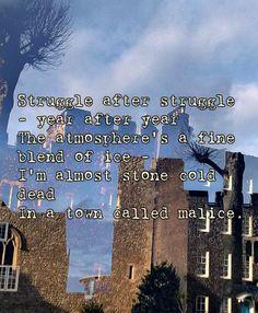 A Town Called Malice #TheJam #lyricart