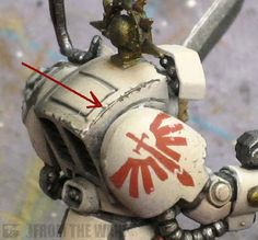 """""""Using a standard pencil for weathering"""" - A pencil, combined with other techniques, is useful to represent armor plating worn down to bare metal."""
