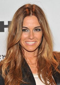 Kelly Bensimon -- Who says short hair over 40??  Love this cut!!