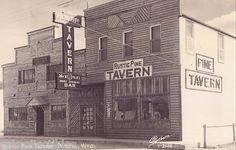 RPPC Rustic Pine Tavern Dubois Wyoming | eBay