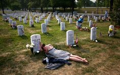 """""""Memorial Day 2012: President Obama Offers Prayer for Peace"""" [] I don't know who took this photo..."""