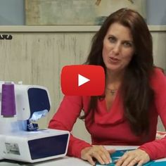 Did you know that you can use you serger to create a blind hem? This great blind hem tutorial video by Angela Wolf shows you how.