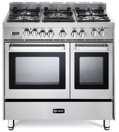 Stainless Steel By Verona. Double Oven RangeDouble OvensElectric ...