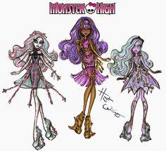 #Hayden Williams Fashion Illustrations: #Monster High 'Haunted' part 2 by Hayden Williams