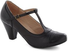 Just Like Honey Heel in Black on shopstyle.com
