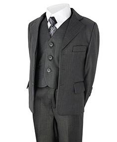 Boys Holiday Editions $39.99 4pc Black /& Turquoise Vest Suit Size 5-12