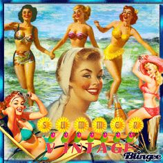 """""""Vintage Summer"""" by titi269"""