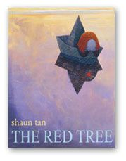The Red Tree by Shaun Tan.   A story about how meaningless life can be, but it's also a wonderful tale about hope.