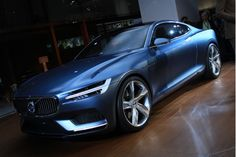Volvo Concept Coupe: Live From Frankfurt