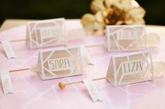 rocky candy escort cards