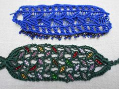 036 Micro Macramé, Macrame, Beanie, Beaded Bracelets, Hats, Jewelry, Fashion, Jewerly, Moda