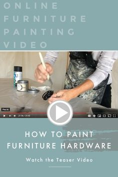 Diy House Projects, Diy Furniture Projects, Recycled Furniture, Furniture Makeover, Painted Furniture For Sale, Chalk Paint Furniture, Refurbished Furniture, Furniture Painting Techniques, Painting Tips