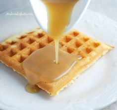 Waffle syrup that will change your life - we have been making this for years and it is DIVINE!
