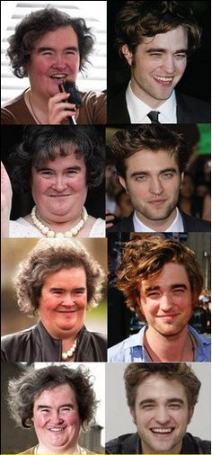 Have you noticed how much they look alike?  Cannot be unseen.
