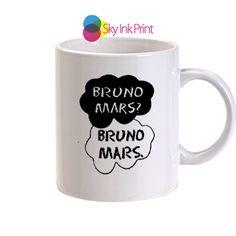 bruno mars quotes13 coffee mugs, Gift Idea, wedding gift, Coffee lover gift, Tea lover gift By SkyInkPrint