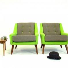 Vintage Retro Homestyle G PLAN Armchairs c1957