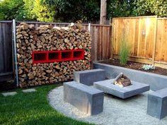 Garten Feuerstelle Ideen