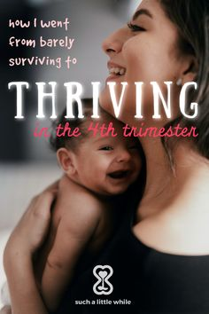 After a very tough run with my high needs newborn, I went from barely surviving to thriving the 4th trimester.  Learn 7 new mom tips and the value of trusting your maternal instincts with your baby. #attachmentparenting #4thtrimesterquotes Attachment Parenting Quotes, Gentle Parenting Quotes, Parenting Advice, Mindful Parenting, 4th Trimester, Postpartum Care, New Moms, Breastfeeding, Pregnancy