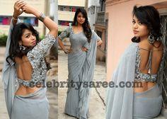 Bhavya Sree Deep Neck Blouse