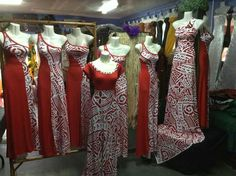 Wow love this idea! Island Wear, Island Outfit, Clothing Patterns, Dress Patterns, Samoan Dress, Island Style Clothing, Polynesian Designs, Tropical Dress, Different Dresses