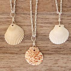 Hawaiian Sunrise Sea Shell Necklace | Bohemian Gypsy Jewelry | Boho Festival Jewellery | Hippie Fashion Style | Indie and Harper