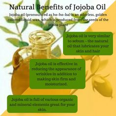 "This is another oil that is featured in our ""Your Best Skin"" guide.  We are working on some new formulations and products with jojoba oil.  Love this oil on my skin!!!!!"