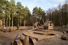 Children's Outdoor Playground at Center Parcs Sherwood Forest - C would spend hours here #CPfamilybreaks