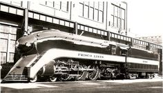 Frisco 1000 Locomotive Photos