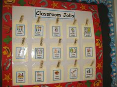 job chart ideas ideas of fifth grade jobs classroom with additional traveling teaching cooking creating classroom job chart job chart ideas for school Preschool Classroom Jobs, Preschool Job Chart, Classroom Jobs Display, Head Start Classroom, Classroom Job Chart, Classroom Helpers, Free Preschool, Classroom Management, Classroom Ideas