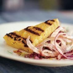 Grilled Polenta with Fennel Salad | Williams Sonoma