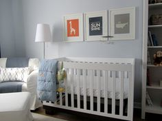 Baby room wall color