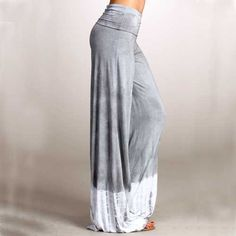 Palazzo pants maxi tie dyed with wide leg by PricklyPoppyFashion, $38.99.  Love these (and the store name) so much!