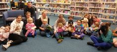AuPair Link staff and their wee charges had a lovely teddy bear's picnic atthe library in September 2013.