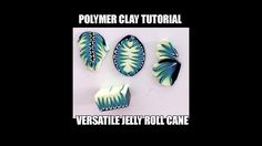 "Polymer clay tutorial - versatile ""barbed wire"" jellyroll cane - YouTube"