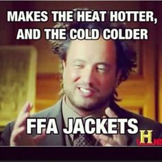 FFA Jackets so true. Skills USA jackets do the same thing.