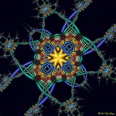 Mathematical Imagery by Jos Leys.  Fractal Gallery: Magic Shapes