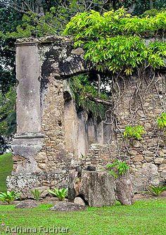 Belas ruínas. Município Governador Celso Ramos, em Santa Catarina, Brasil. Foto de Adriana Füchter. 0441 29 ruinas - Governador Celso Ramos