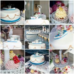Hochzeitstorte Schiff ... Wedding Cake Petra, Table Decorations, Furniture, Home Decor, Ships, Wedding Cakes, Decoration Home, Room Decor, Home Furnishings