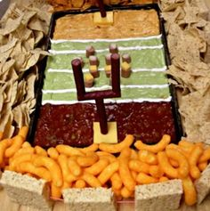 Great tips to save money on your Super Bowl Prep - fun foods, inexpensive ideas, and free decorations!
