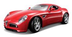 Huge range of diecast models - includes leading brands such as Corgi and Sky Guardians aircraft, Kyosho, Hot Wheels, Sunstar and Maisto diecast car models. Alfa 8c, Alfa Romeo 8c, Diamond Red, Car Sketch, Car Covers, Diecast Model Cars, Car Brands, Maserati, Lamborghini