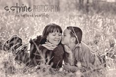 Precious! Great photo idea for a mother and son
