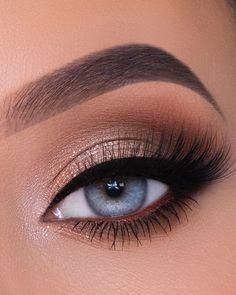 Makeup Eye Looks, Eye Makeup Steps, Eye Makeup Art, Natural Eye Makeup, Cute Makeup, Pretty Makeup, Stunning Makeup, Skin Makeup, Makeup Eyeshadow