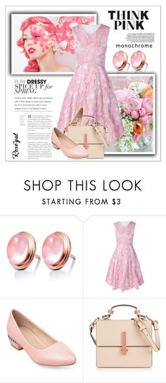 """""""Rosegal #72"""" by shambala-379 ❤ liked on Polyvore featuring Kendall + Kylie, polyvoreeditorial, rosegal and monochromepink"""